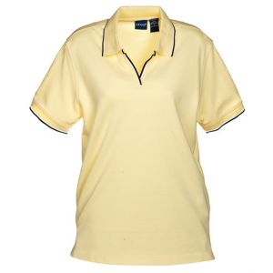 Áo phông nữ Izod Short Sleeve Silk Wash Polo, SZ: M