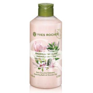 Sữa Tắm  Yves Rocher 400ml - Magnolia White Tea