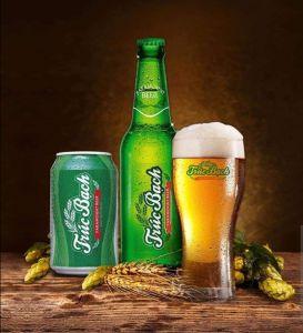 Thùng 24 lon bia Habeco Trúc Bạch