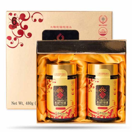 Cao hồng sâm 6 năm Sobaek Korea (240g x 2 lọ)