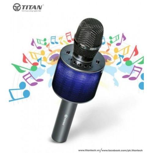 Mic hát đôi bluetooth TITAN - M01