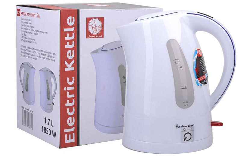 Ấm điện siêu tốc Elmich Smart Cook KES-6871 1850W 1.7L