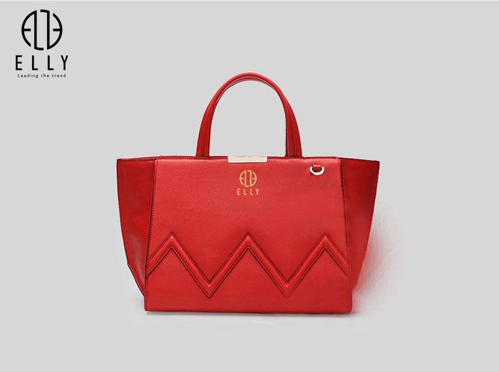 Túi xách nữ thời trang cao cấp ELLY – EL91 đỏ