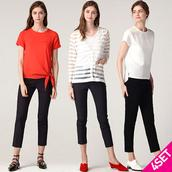 Set 4 combo áo và quần nữ kiểu dáng thời trang LeOT