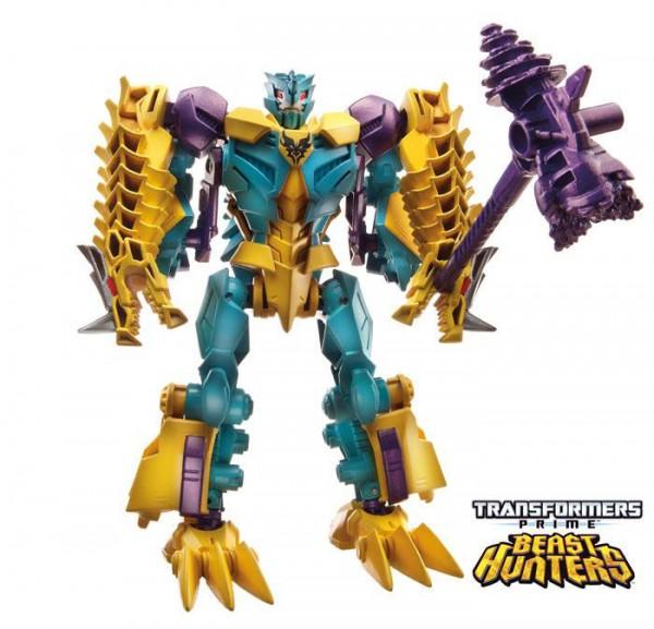Đồ chơi Transformer - Robot biến hình Beast Hunters Twinstrike Predacon Box