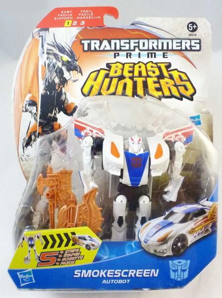 Đồ chơi Transformer - Robot biến hình Beast Hunters Smokescreen Box