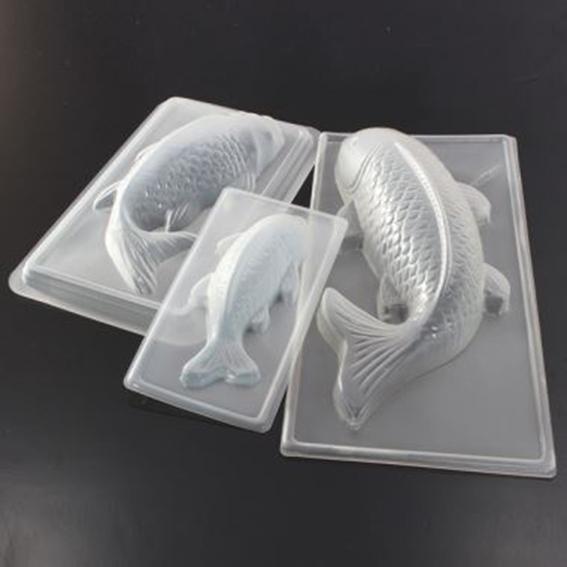 Khuôn trung thu nhựa cá chép to
