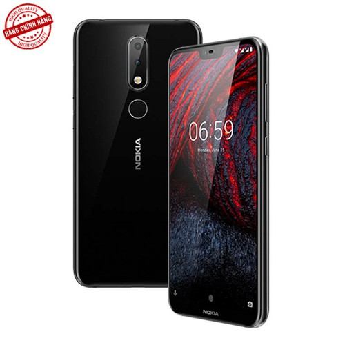 Điện thoại Nokia 6.1 Plus | Hàng Chính Hãng - SV251