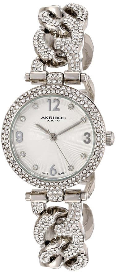 Đồng hồ nữ Akribos XXIV AK756SS Brillianaire Crystal-Accented