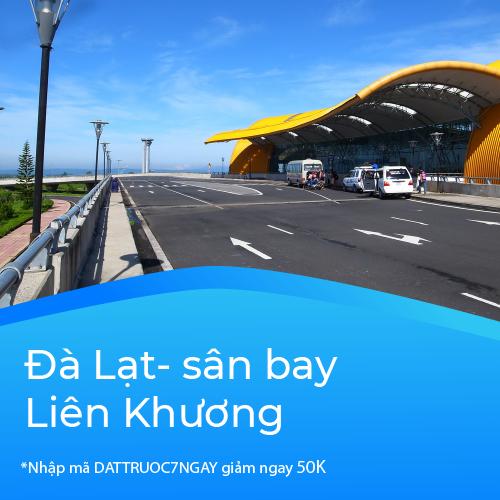 Tuyến Đà Lạt - sân bay Liên Khương