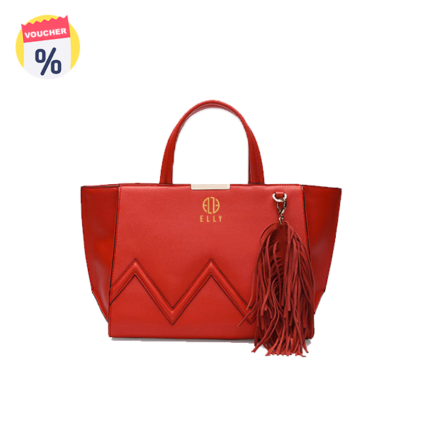 Mua ngay Voucher với giá 429.000 VND để sở hữu ngay Túi xách nữ Thời trang cao cấp ELLY - EL91 đỏ (Giá niêm yết: 1.399.000 VND)
