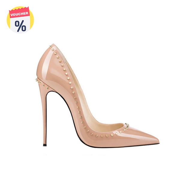 Mua ngay Voucher với giá 724.000 VND để sở hữu ngay Giày nữ thời trang ELLY - EG51 nude sz 35 - sz39 (Giá niêm yết: 1.499.000 VND)