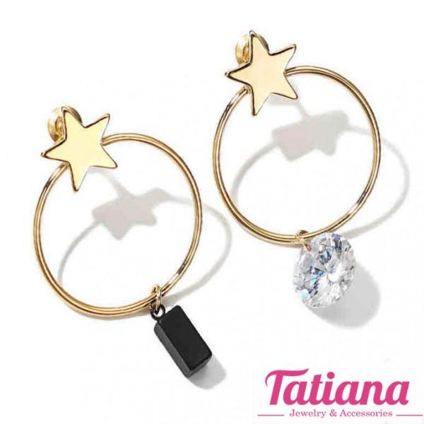 Bông Tai BĐX Sao Đá - Tatiana - B2779