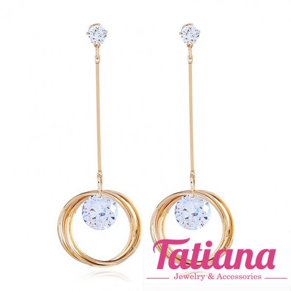 Bông Tai Dài Drop Sawa - Tatiana - BH3224