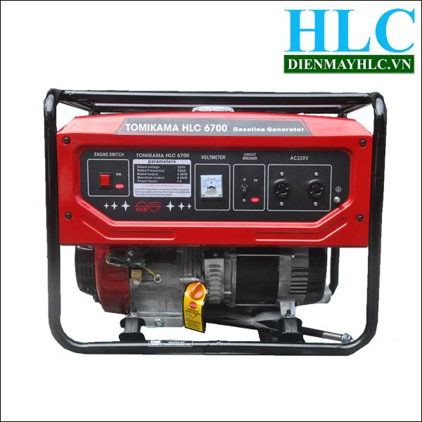 Máy phát điện chạy xăng Tomiakama HLC 6700