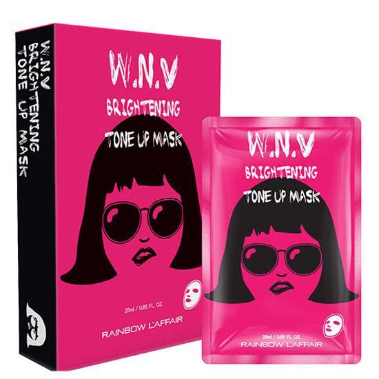 Hộp 10 miếng mặt nạ dưỡng da W.N.V Brighting Tone Up Mask 1943965