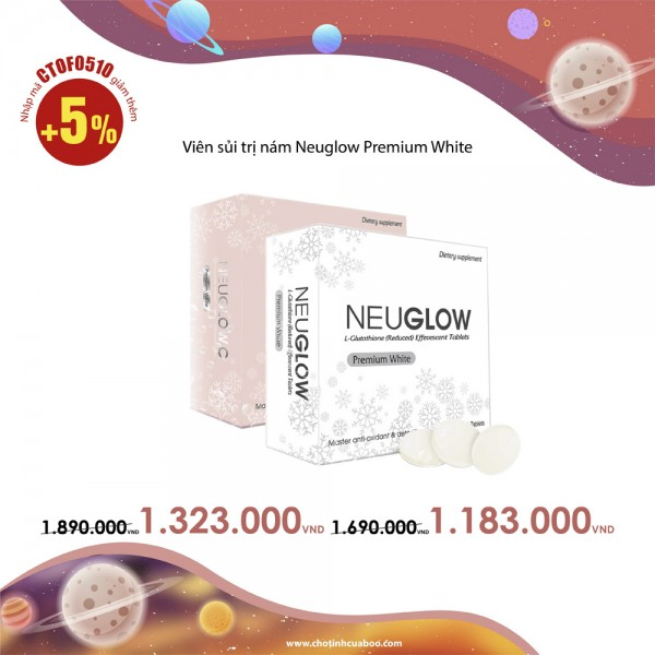 Viên sủi trị nám Neuglow Premium White