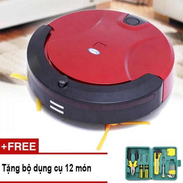Robot hút bụi lau nhà thông minh Kachi KC-HB01 + Tặng bộ dụng cụ 12 món