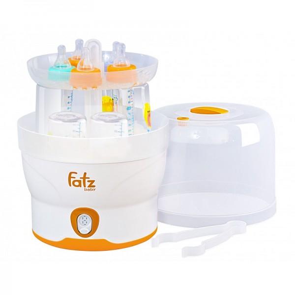 Máy tiệt trùng điện tử 6 bình sữa Fatzbaby FB4028SL