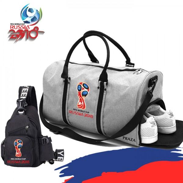 Com Bộ túi thể thao World PRAZA TX081DC110 - COMBOWORLDCUP - XÁM 1932678