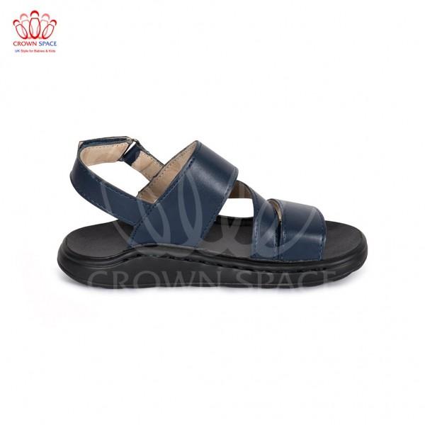Sandals bé trai Crown UK London Fashion Sandals CRUK649 màu xanh navy