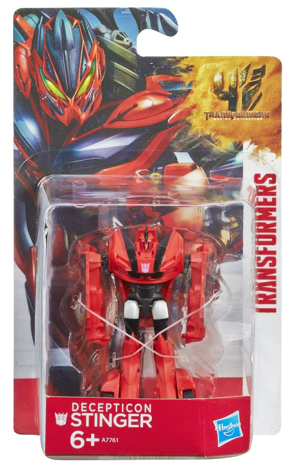 Đồ chơi Robot Transformers Age of Extinction Mini - Decepticon Stinger Box