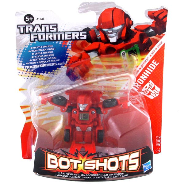 Đồ chơi Robot Transformer mini Bot Shots - Ironhide Box