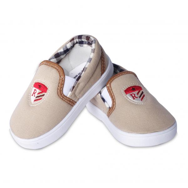 Giày vải tập đi Royale Baby Injection Shoes 032_799 màu nâu nhạt