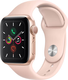Apple Watch Series-5 GPS 40mm Gold - Pink Sand Sport Band