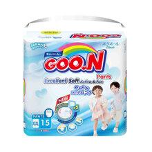Bỉm - Tã quần Goo.N Renew Slim size XXXL 15 miếng (Cho bé 18 - 30kg)