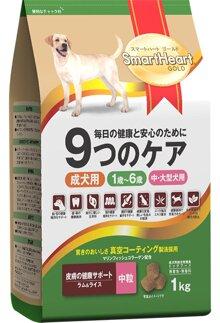 Thức ăn SmartHeart Gold cho chó trưởng thành vị cừu và gạo