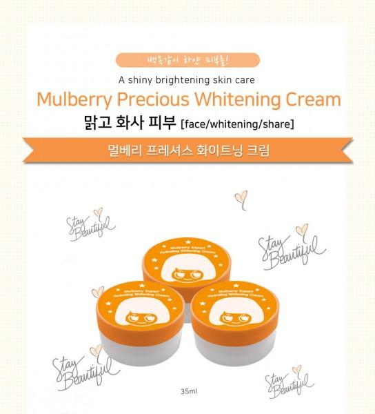 Kem dưỡng trắng Luvskin Mulberry Precious Whitening Cream