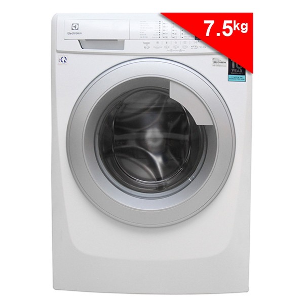 Máy Giặt Cửa Ngang Inverter Electrolux EWF10744 (7.5 Kg) - Trắng