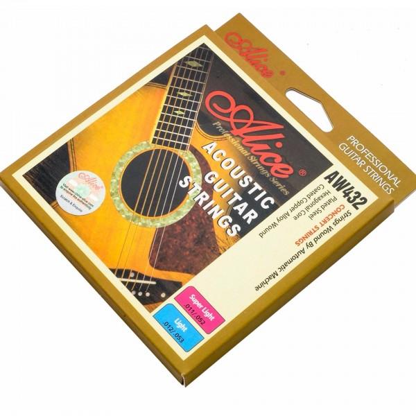 Dây đàn Acoustic guitar strings AW432