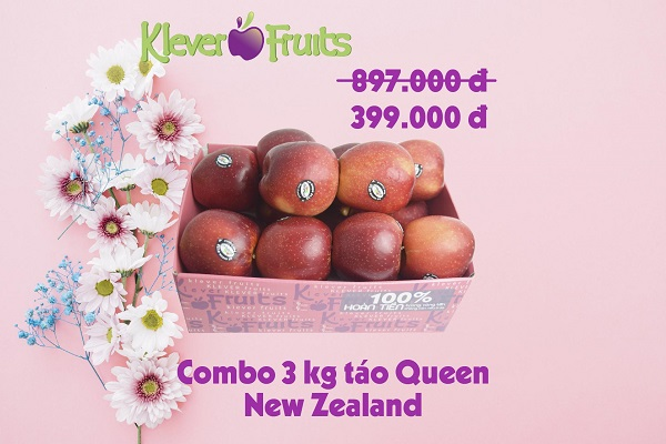 Táo Queen New Zealand 3kg