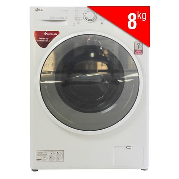 Máy Giặt Cửa Ngang Inverter LG FC1408S4W2 (8kg)