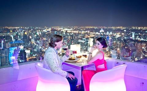 Vé Buffet Tầng 76 và 78 Khách Sạn Baiyoke Sky Bangkok