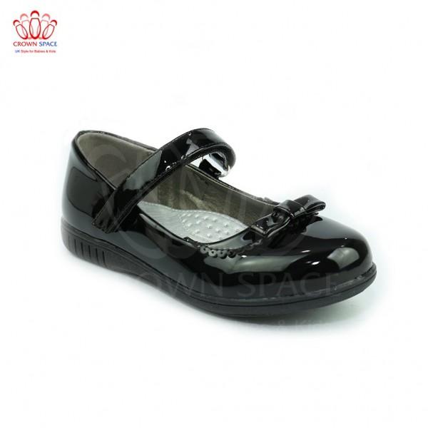 Giày búp bê bé gái Crown UK Basic Ballerina CB3014