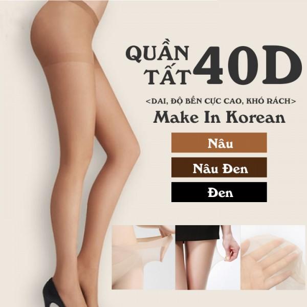 Quần Tất Teen Teen Panty Tights Hàn Quốc Cao Cấp 40D