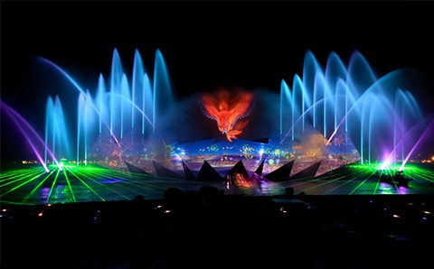 Vé Xem Show Nhạc Nước Wings Of Time Singapore