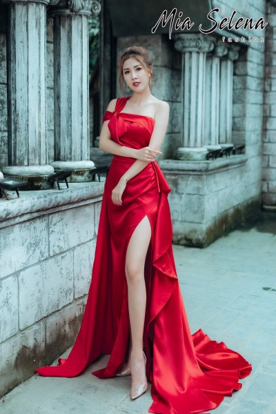 Đầm cưới Mia Selena thiết kế cực sang chảnh (Đỏ)