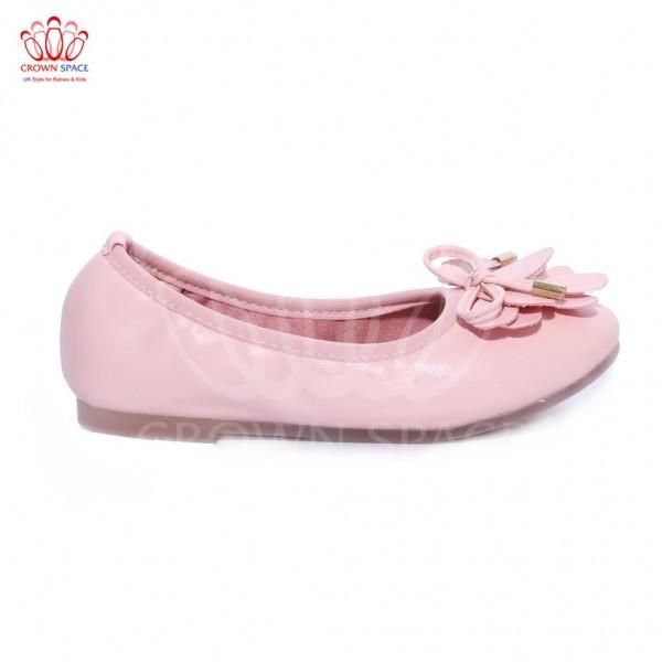 Giày búp bê bé gái Crown UK Basic Ballerina CB3016