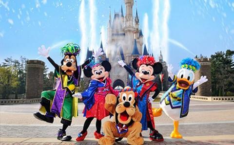 Vé Tham Quan 1 Ngày Tokyo Disneyland Hoặc Disneysea
