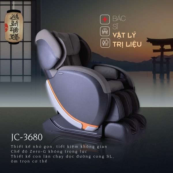 Ghế Massage Cao Cấp  JC-3680