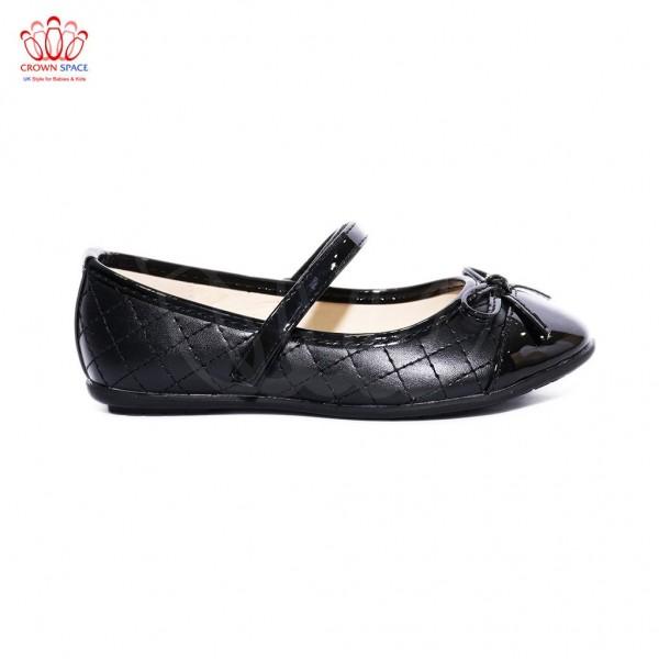 Giày búp bê bé gái Crown UK Basic Ballerina CB3017