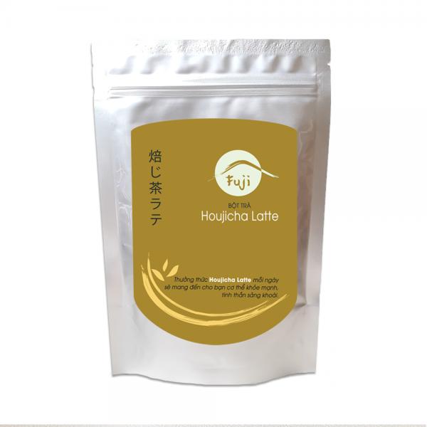 Bột trà rang Houjicha Latte 200g