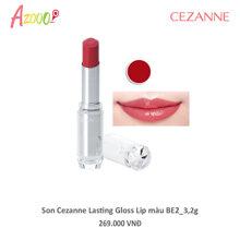 Son Cezanne Lasting Gloss Lip màu BE2_3,9g