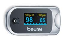 Máy đo khí máu và nhịp tim cá nhân Beurer PO40