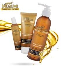 Bộ dầu gội và tinh chất ngăn rụng tóc Megumi