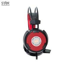 Tai Nghe WangMing 8900L Gaming Led (Đỏ Đen)